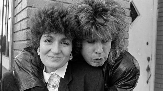 Ozzy and Sharon Osbourne in 1987