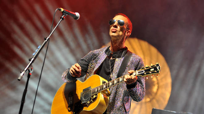 Richard Ashcroft performs on stage at the Brixton Academy on July 1, 2017