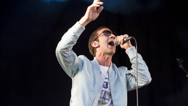 Richard Ashcroft performs on stage at the Northside Festival on June 10, 2017