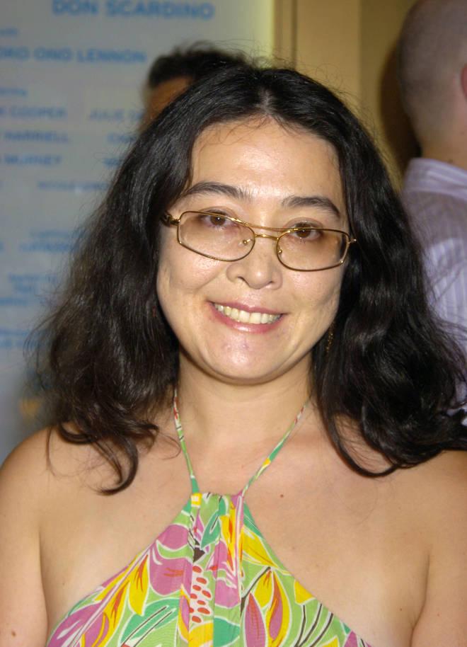 Kyoko Cox in New York in 2005