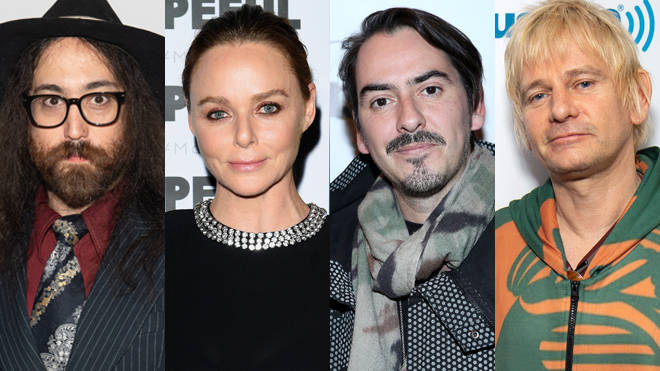 Sean Lennon, Stella McCartney, Dhani Harrison and Zak Starkey