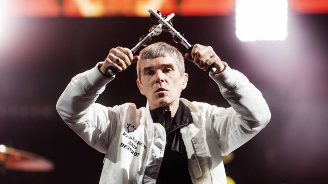 The Stone Roses' Ian Brown at T in The Park in 2016