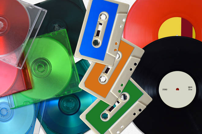 Old music formats