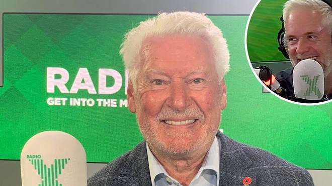 Roy Walker returns for Carpark Catchphrase on The Chris Moyles Show