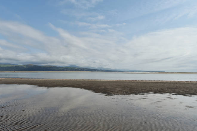 The beach at Black Rock Sands near Porthmadog, North Wales