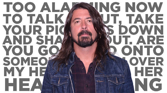 Dave Grohl of Foo Fighters in 2015