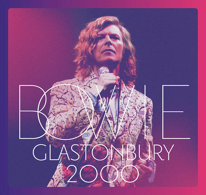 David Bowie Glastonbury 2000 album and DVD artwork