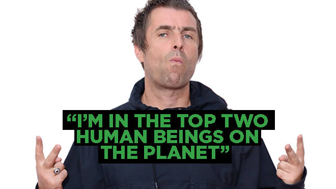Is this Liam Gallagher's outrageous quote?