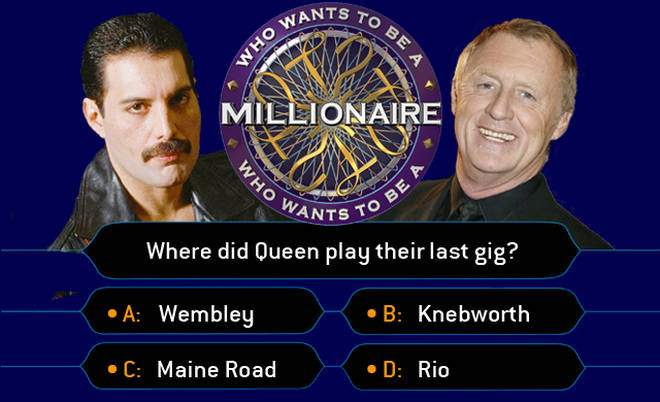 Freddie Mercury and Chris Tarrant