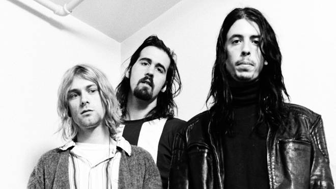Nirvana in Japan, 19th December 1992: Kurt Cobain, Krist Novoselic, Dave Grohl