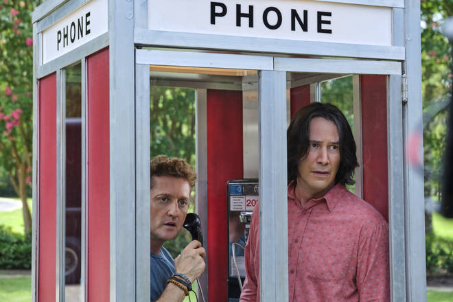 Alex Winter and Keanu Reeves in Bill & Ted Face The Music