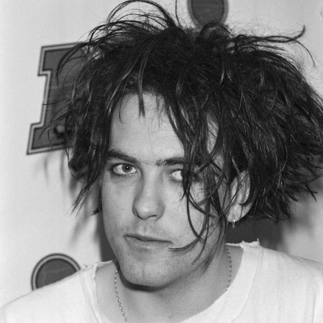 Robert Smith of The Cure in 1985