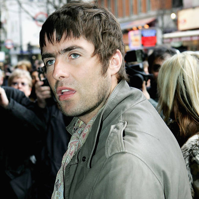 Liam Gallagher in London in 2005