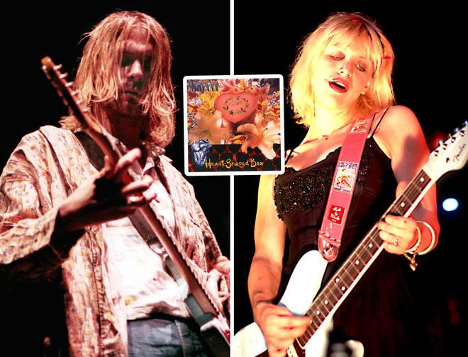 Nirvana's Kurt Cobain and Hole's Courtney Love