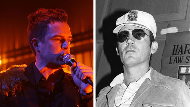 The Killers frontman Brandon Flowers and author Hunter S. Thompson