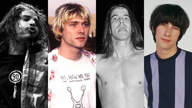 Chris Cornell, Kurt Coban, Anthony Kiedis and Bobby Gillespie