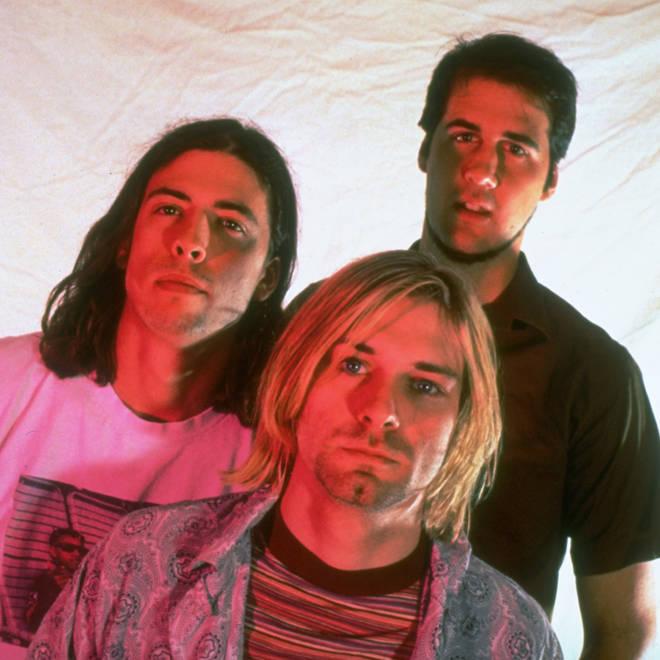 Nirvana: Dave Grohl, Kurt Cobain, & Krist Novoselic
