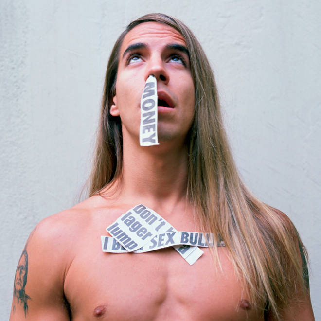 Anthony Kiedis of Red Hot Chili Peppers around the time of the band's Bloog Sugar Sex Magik album.