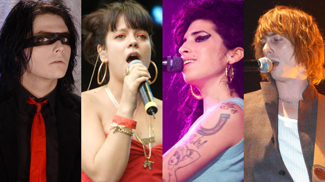My Chemical Romance, Lily Allen, Amy Winehouse and Razorlight