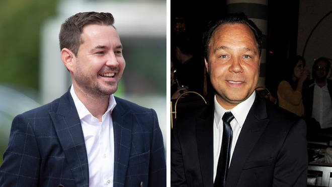 Martin Compston and Stephen Graham