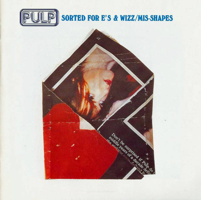 The cover of Pulp's Sorted For E's & Wizz single