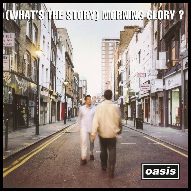 (What's The Story) Morning Glory? Oasis album artwork