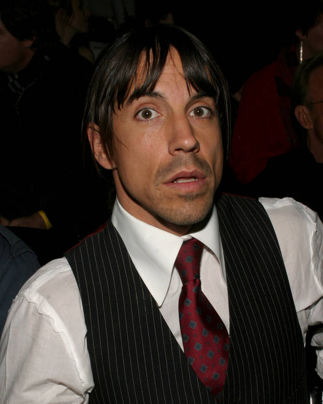 Anthony Kiedis in 2004
