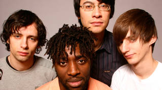 Bloc Party in 2005: Gordon Moakes, Kele Okereke, Matt Tong and Russell Lissack