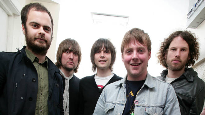 Kaiser Chiefs in March 2007: Nick 'Peanut' Baines, Andrew 'Whitey' White, Nick Hodgson, Ricky Wilson, Simon Rix