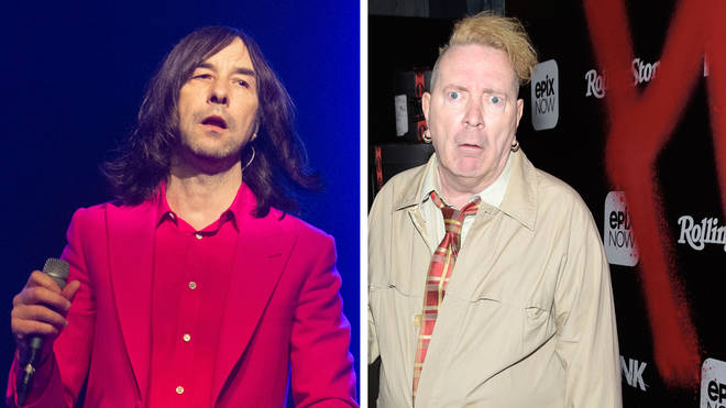 Primal Scream frontman Bobby Gillespie and Sex Pistols and PiL legend John Lydon