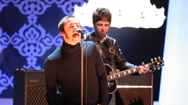 Liam and Noel Gallagher on German TV in February 2009