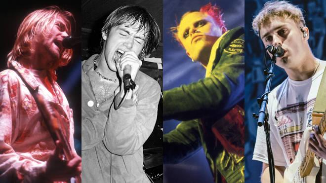 Nirvana. Blur, The Prodigy and Sam Fender