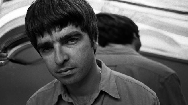 Noel Gallagher in London, 1995
