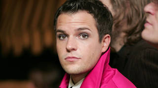 Brandon Flowers of The Killers in May 2005