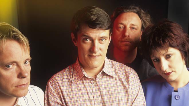 New Order: Bernard Sumner, Steve Morris, Peter Hook, Gillian Gilbert