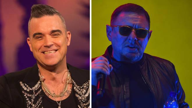 Robbie Williams and Happy Mondays' Shaun Ryder