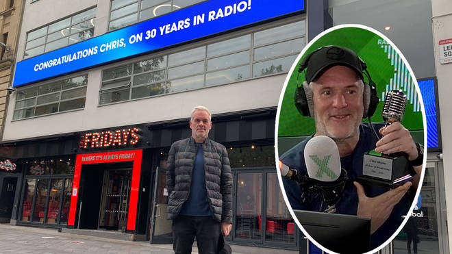 Radio X marks 30 years of Chris Moyles in broadcasting