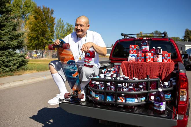 TikTok star Nathan Apodaca receives truck from Ocean Spray