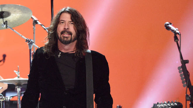 "Dave Grohl at the 62nd Annual GRAMMY Awards  ""Let&squot;s Go Crazy GRAMMY salute to Prince"