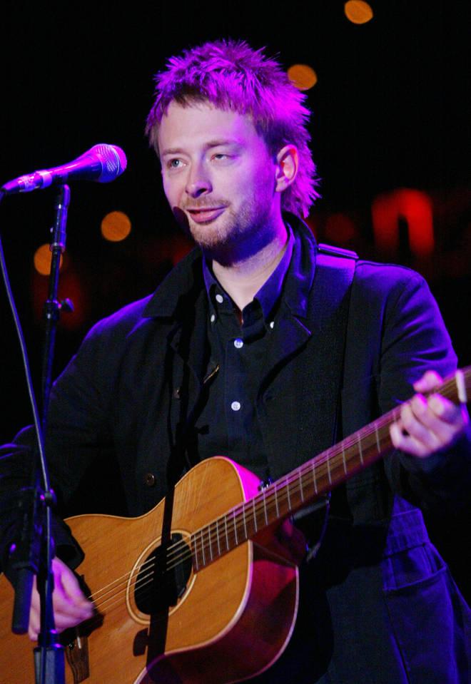 Thom Yorke live in California, 2002