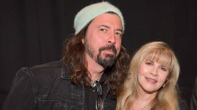 Foo Fighters' Dave Grohl and Fleetwood Mac singer Stevie Nicks