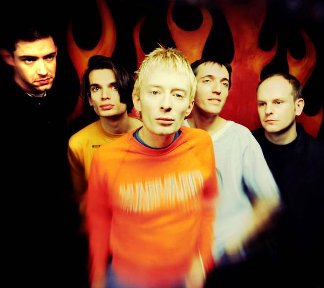 Radiohead in 1993