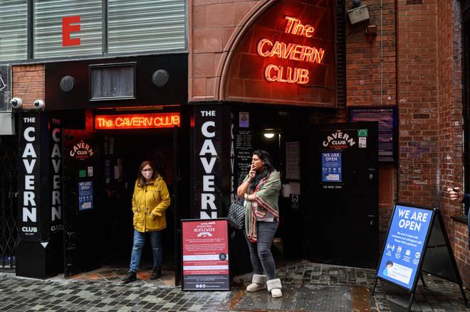 Liverpool's famous The Cavern Club venue