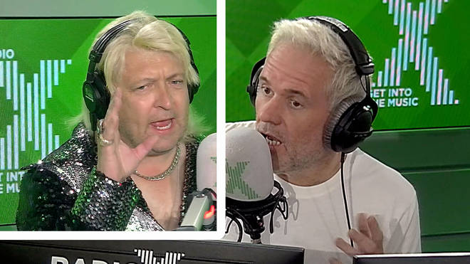 Clinton Baptiste has a very special message for Chris Moyles