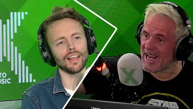 James annoys Chris Moyles with how he says Yvonne