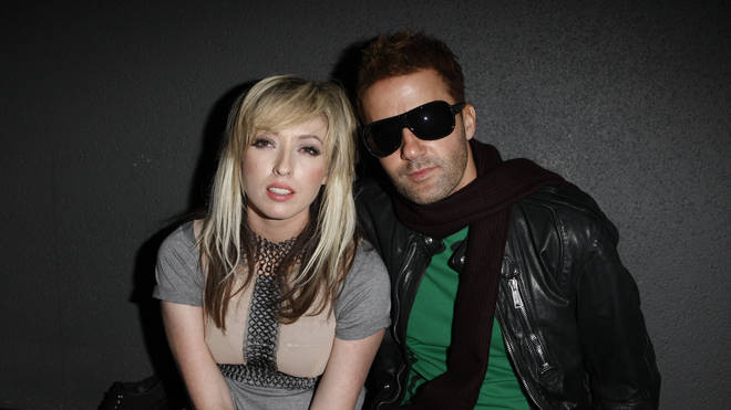 Katie White and Jules De Martino of The Ting TIngs at the BRIT Awards in 2009