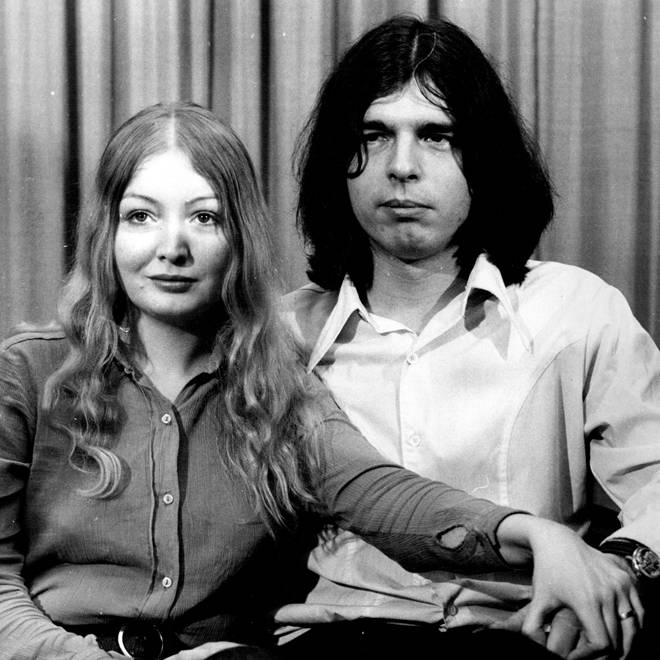 Tony Visconti and Mary Hopkin pictured in 1972