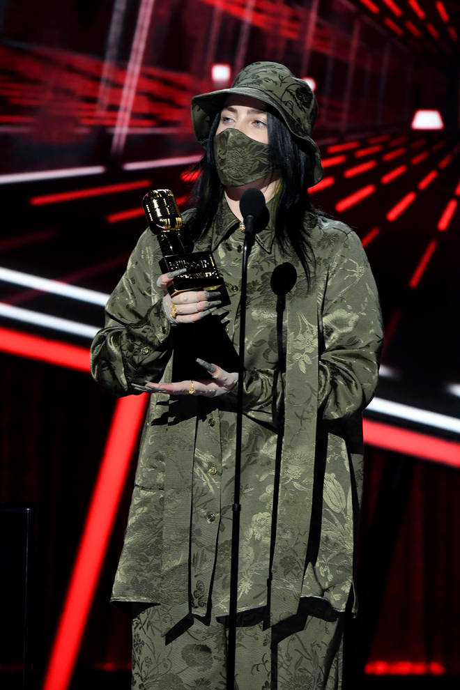 Billie Eilish wins big at 2020 Billboard Music Awards