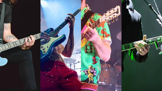 Mystery guitar hands