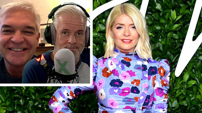 Philip Schofield talks to Chris Moyles about the incredible support from Holly Willoughby
